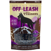 Off-Leash Mini Trainers Tender Duck Recipe Dog Treats