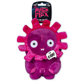 Spunky Pup Alien Flex Kam Plush Dog Toy
