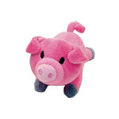 Li'l Pals Plush Pig Dog Toy