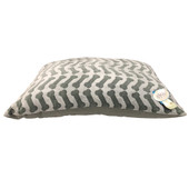 Rover Rest Mineral Bone Print Pillow Dog Bed