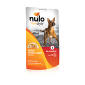 Nulo Freestyle Puppy & Adult Chicken, Salmon & Carrot Recipe Dog Food Pouch