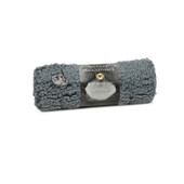HuggleHounds HuggleFleece Gray Pet Mat - Back