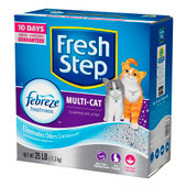Fresh Step Multi-Cat Scented Clumping Cat Litter