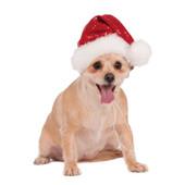 Rubie's Red Sequin Santa Dog Hat