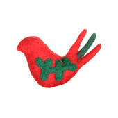 RC Pets Holiday Wooly Wonkz Bird Partridge Cat Toy