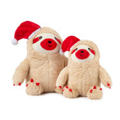 FuzzYard Holiday Christmas Sloth Plush Dog Toy