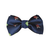 Fashion Pet Holiday Present Navy Dog Bow Tie