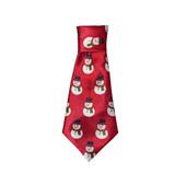 Fashion Pet Snowman Dog Neck Tie