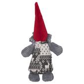 HuggleHounds Sven The Holiday Gnome Chubbie Buddie Plush Dog Toy