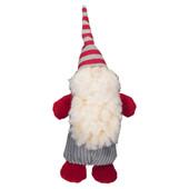 HuggleHounds Lars The Holiday Gnome Chubbie Buddie Plush Dog Toy