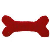 HuggleFleece Holiday Humongous Bone Plush Dog Toy