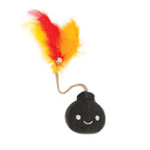 Catit Play Pirates Plush Bomb Catnip Cat Toy