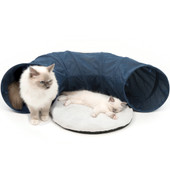 Catit Vesper Blue Cat Tunnel Toy