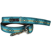 Walk-e-Woo Turquoise Sky Dog Leash
