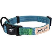 Hamilton Go Boldly Ocean & Green Adjustable Dog Collar