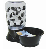 Lixit Reversible Base Feeder & Water Fountain for Cats