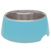 Loving Pets Electric Blue Retro Dog Bowl