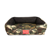 Duke & Lola Chief Camouflage Green Ortho Dog Bed