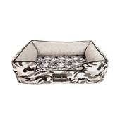 Duke & Lola Chief Camouflage Grey Ortho Dog Bed