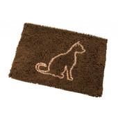 Clean Paws Brown Cat Mat