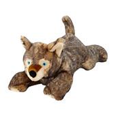 Fluff & Tuff Lobo Wolf Pup Plush Dog Toy