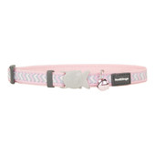 Red Dingo Reflective Ziggy Safety Cat Collar