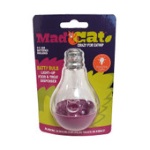 Mad Cat Batty Bulb Light-Up Food & Treat Dispenser Cat Toy