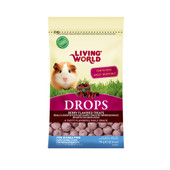 Living World Drops Berry Flavor Guinea Pig Treats
