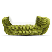 Pure Comfort Clamshell Green Pet Bed