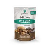 Pet Releaf Edibites Large Breed Peanut Butter & Carob Swirl Soft Chew Hemp Dog Supplements