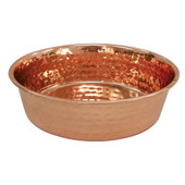 Dineasty Stainless Steel Copper Plated Dog Bowl