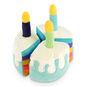P.L.A.Y. Party Time Collection Bone-Appetite Cake Plush Dog Toy