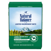 Natural Balance Limited Ingredient Diets Lamb & Brown Rice Formula Dry Dog Food