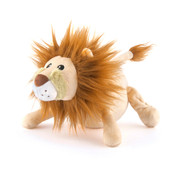 P.L.A.Y. Safari Leonard The Lion Plush Squeaky Dog Toy