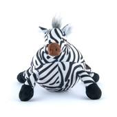 P.L.A.Y. Safari Zara The Zebra Plush Squeaky Dog Toy