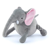 P.L.A.Y. Safari Ernie The Elephant Plush Squeaky Dog Toy