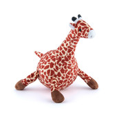 P.L.A.Y. Safari Gabi The Giraffe Plush Squeaky Dog Toy