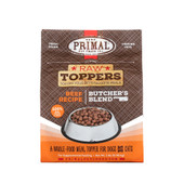 Raw Toppers Butcher's Blend Beef Recipe Frozen Meal Topper for Dogs & Cats