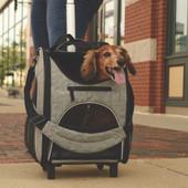 Bergan Rolling Pet Carrier