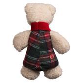 HuggleHounds Christmas Chubbie Buddie Polar Bear Plush Dog Toy