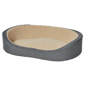 MidWest QuietTime Deluxe Gray Hudson Dog Bed