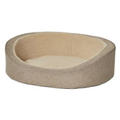 MidWest QuietTime Deluxe Tan Hudson Dog Bed