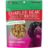 Charlee Bear Meaty Bites Chicken & Cranberry Freeze Dried Dog Treats