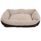 Aspen Pet Self-Warming Corduroy Cuddler Dog Bed