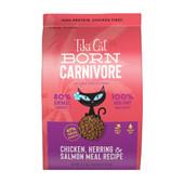 Tiki Cat Born Carnivore Chicken, Herring & Salmon Meal Dry Cat Food