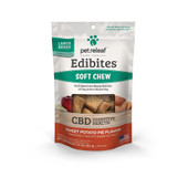 Pet Releaf Edibites Large Breed Sweet Potato Pie Soft Chew Hemp Dog Supplements