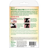 TropiClean Natural Flea & Tick Spot On Treatment for Small Dogs (Under 35 lbs) - Back