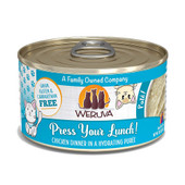 Weruva Press Your Lunch! with Chicken Canned Cat Food - Front