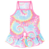 SimplyDog Tie-Dye Dog Dress - Front