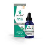 Pet Releaf Organic Full Spectrum Hemp Oil 100mg for Small Dogs & Cats - Front